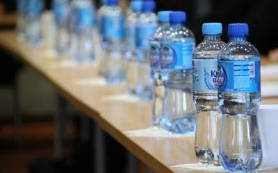 Ontslag wegens flesje water